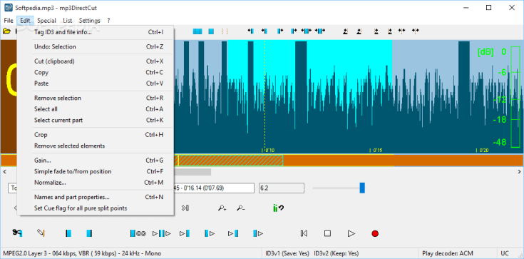 mp3DirectCut 3.0 Torrent Download 2019