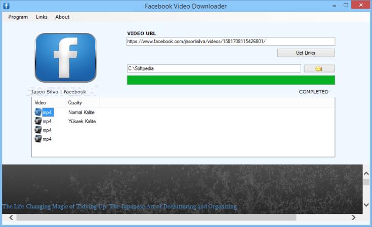 Facebook Video Downloader 7.0 Cracked