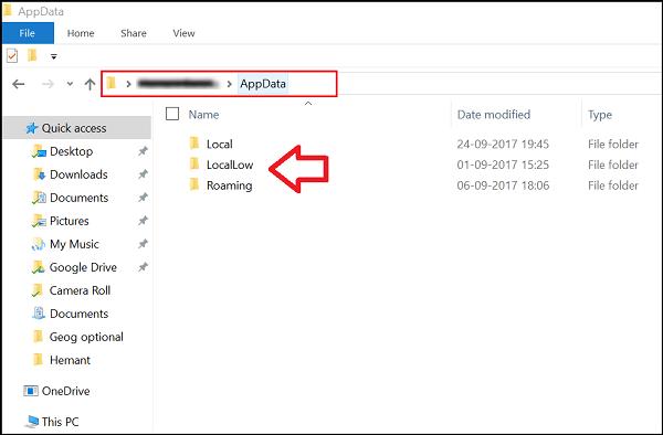 Lokale. LocalLow- und Roaming-Ordner in AppData unter Windows 10 erklärt - Windows Nachrichten