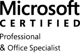 Microsoft Certified Professional & Microsoft Office Specialist
