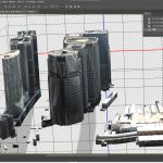 Project PLATEAUのデータをペイント3DやPhotoshopで表示してみる