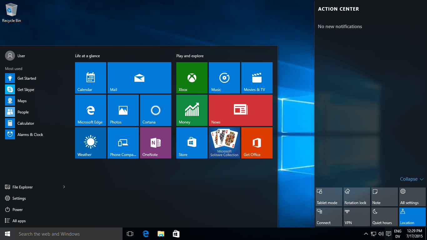 Windows 10 32 Bit for Windows - CNET Download - Free