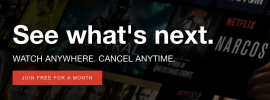 netflix free trial month 2017