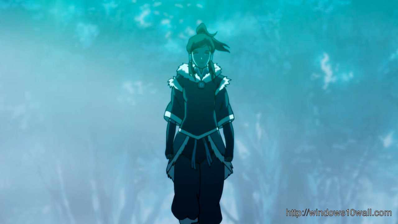 Cute Boy And Girl Cartoon Wallpaper Avatar The Legend Of Korra1 Windows 10 Wallpapers