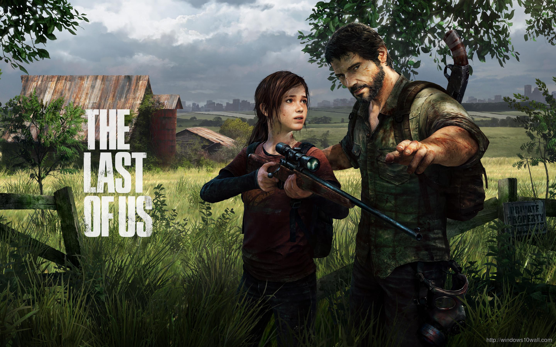 Cute Boy And Girl Cartoon Wallpaper The Last Of Us Wallpaper Windows 10 Wallpapers