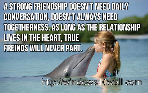 Friendships Wallpapers With Quotes Inspirational Quotes Windows 10 Wallpapers
