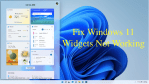 Windows 11 Widgets not Working or Showing Up