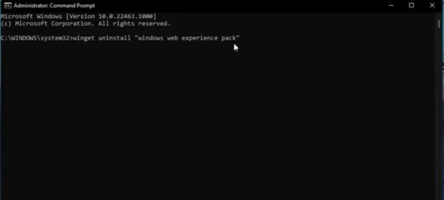 Hide or Remove Widgets via CMD