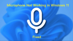 How to Fix Microphone Not Working in Windows 11?