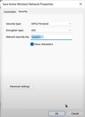 Show Wi-Fi password