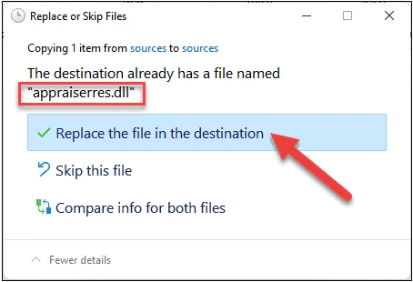 Replace appraiserres.dll file in Windows 11 ISO