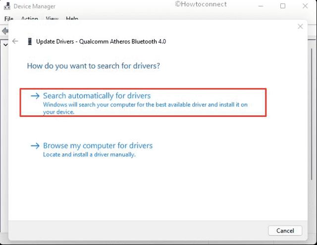 Update drivers in Windows 11