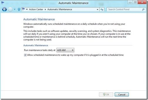 Automatic Action center 2