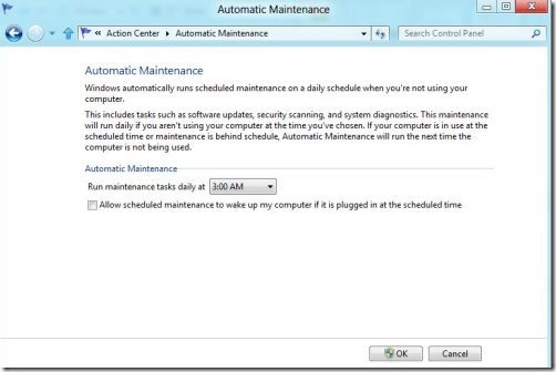Automatic Action center 3