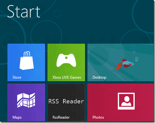 RSS Reader WIndows 8