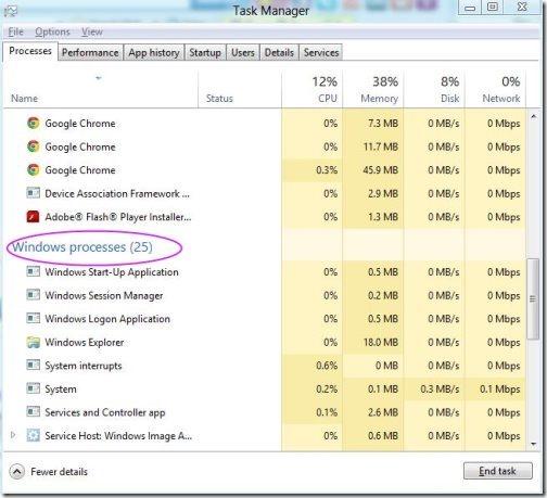 Restart Windows explorer 2