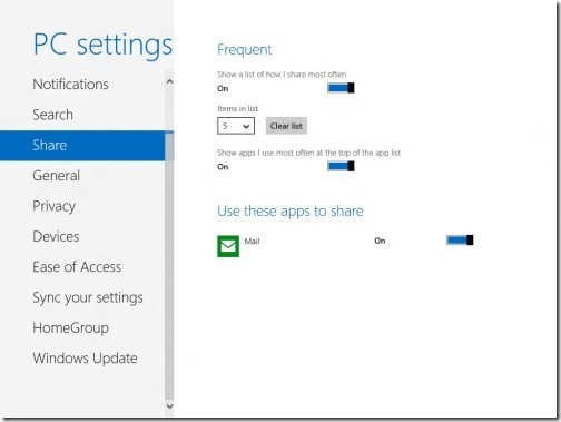 Windows 8 PC settings 4