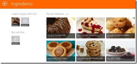 Allrecipes Application 001