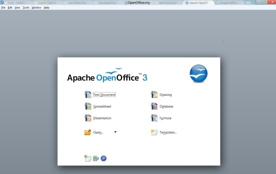 Apache openoffice free office software for windows 8 windows 8 freeware - Free office suite for windows ...