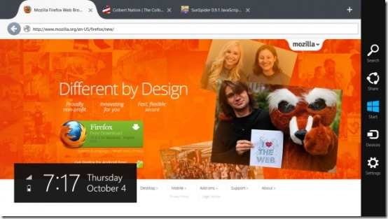 Browsers for Windows 8