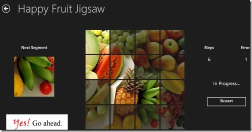 Jigsaw Puzzle Windows 8 app