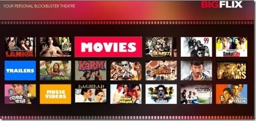 Windows 8 Movie Apps