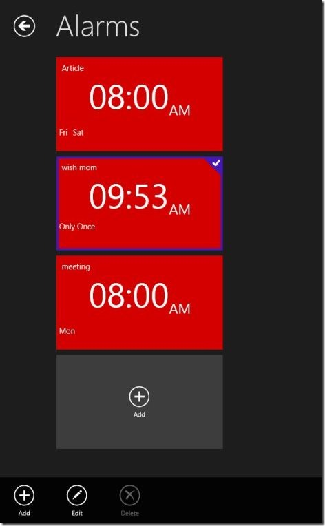 4 Free Windows 8 Alarm Clock Apps | Windows 8 Freeware