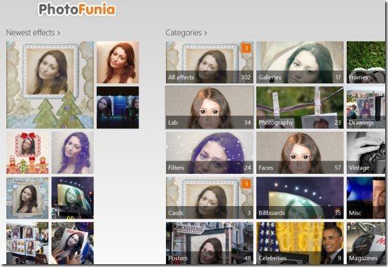 Windows 8 photo editor app