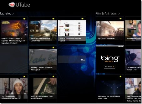 4 free Windows 8 YouTube Apps | Windows 8 Freeware