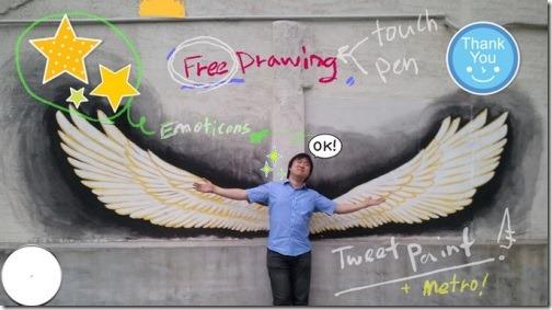 Tweet Metro Paint
