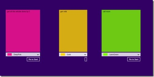 Windows 8 Sticky Note Apps