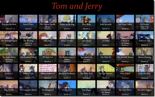 Windows 8 tom and jerry apps