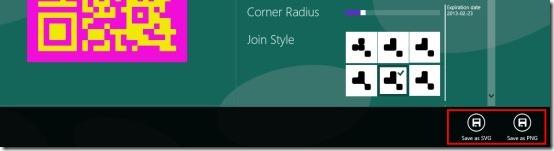 QR Code Designer app