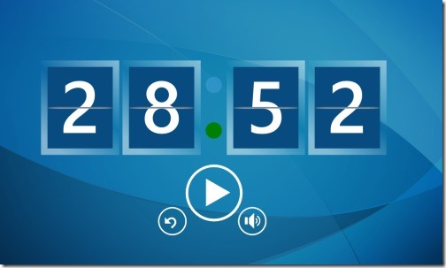 Timer app for Windows 8