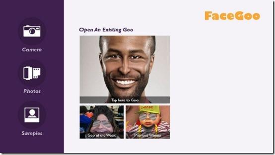 facegoo - apphomeppage