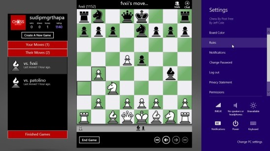 chess game for windows 8 free