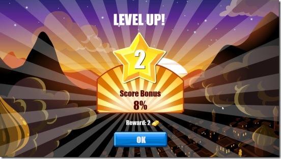 Daimond Dash - unlocking new level