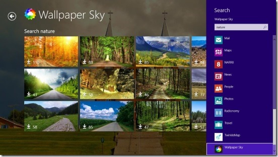 Wallpaper Sky - search