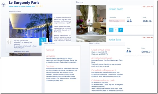 Booking.com- Hotel Details