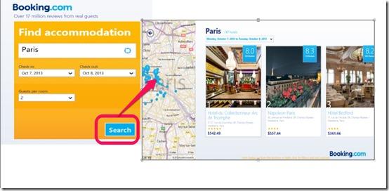 Booking.com-  Search