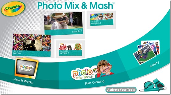 Crayola Photo Mix & Mash
