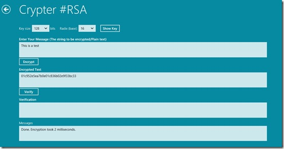 Cryptor RSA- Encrypt