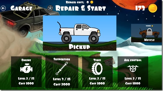 Offroad Racing- Garage