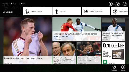 THE Football App - league news (Premeire League)