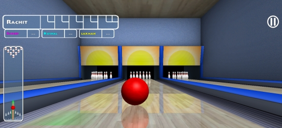 Trick Shot Bowling- Game