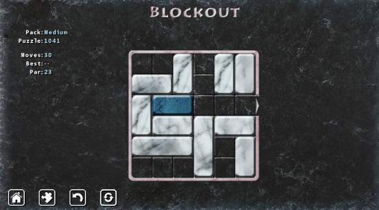 Blockout- Game play