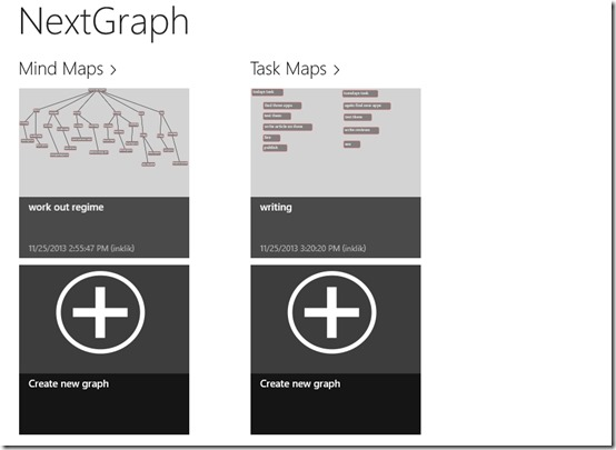 NextGraph- Main Screen