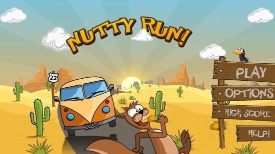Nutty Run!- Main Menu