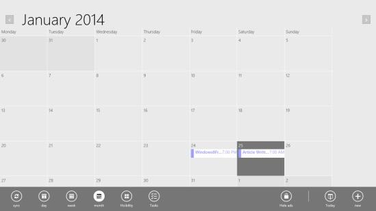 Gmail Calendar App