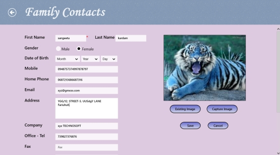 Contacts Hub- Adding Contact